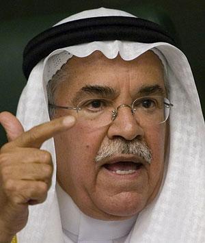 Ali al-Naimi Saudi Oil minister