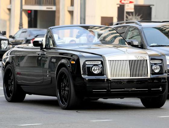 Dav d Beckham Rolls Royce Phantom Drophead Coup