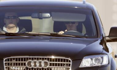 David Beckham Audi Q7