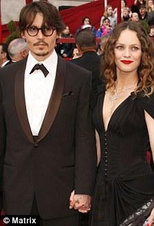 Johnny Depp Vanesa Paradis