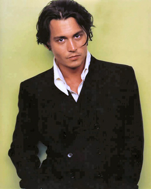 definately depp damn fuckin hot love johnny black eyes