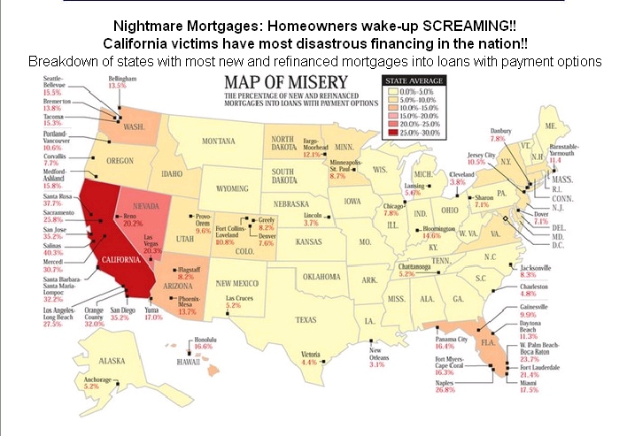 PropertyInvestingnet Property Investment Special Reports - House pricing in us map