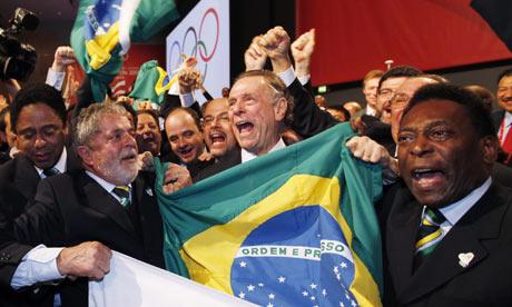 Rio Olympics - Pele and Lula