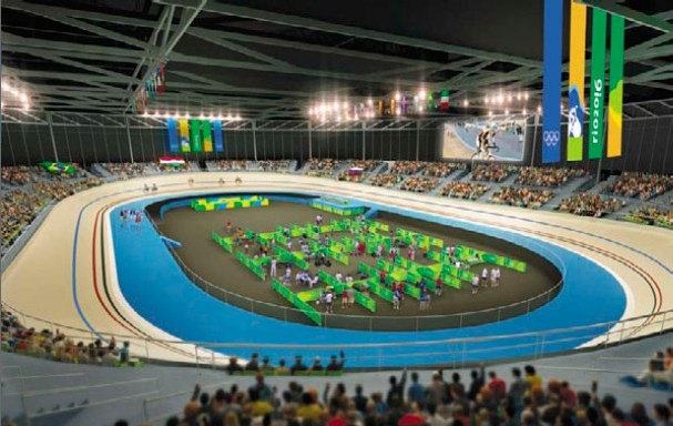 Rio Olympics Velodrome