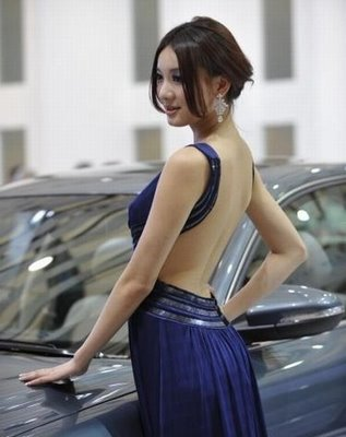 Shanghai Auto Expo Car Show - hostess
