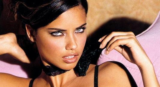 Adriana Lima staring sexy