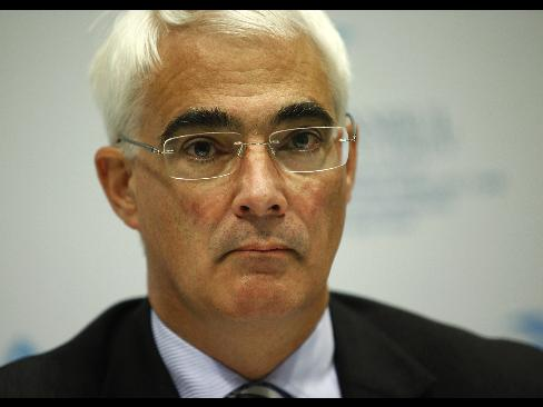 Alistair Darling - high tax recession