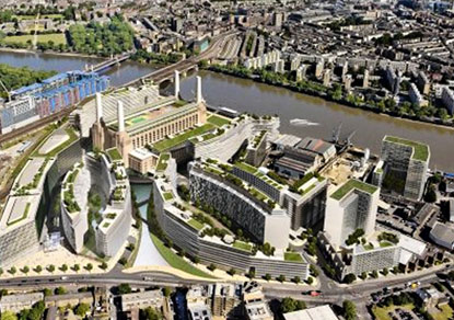 Battersea Nine Elms US Embassy Property Boom