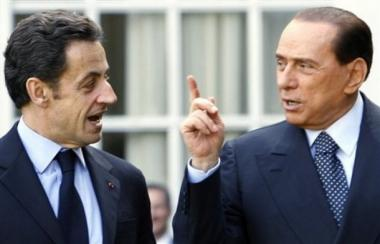 Mr Berlousconi and Mr Sarkozy