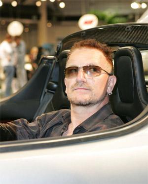 Bono Electric Tesla Supercar in Monaco Tax Haven