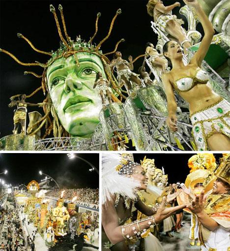 brazil carnival rio