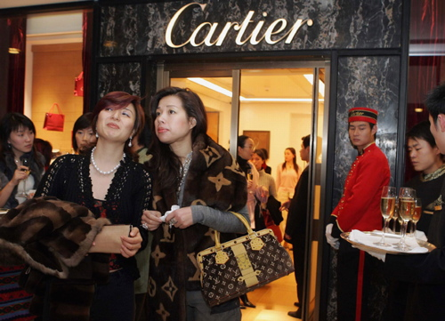 China super rich - Cartier store