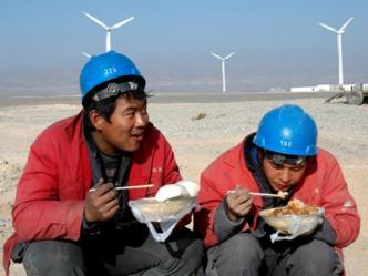 China wind green tech $1 Trillion 2013