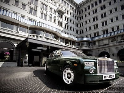 China super rich in London