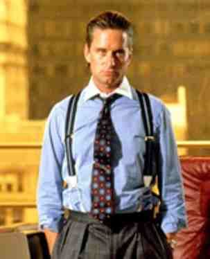 City bonus wall street greed Gordon Gekko