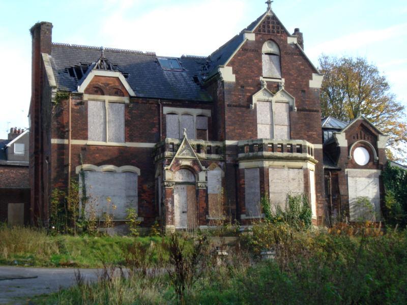 Derelict victorian home Ashton england
