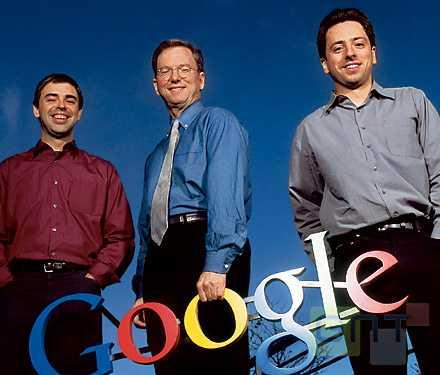 Google Page Schmidt Brin