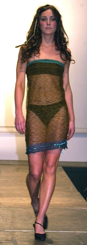 Kate Middleton modelling underwear