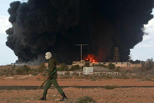 libyan oil crisis civil war
