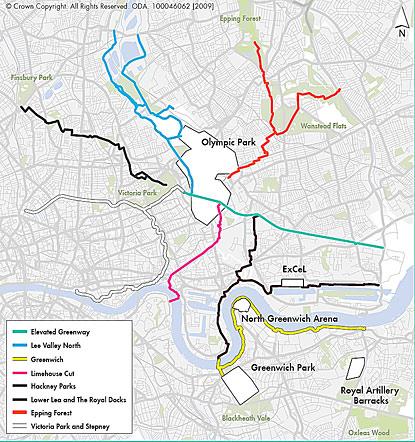 london-green-lanes-cycle-map-olymics