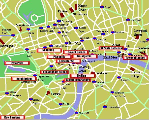 london tourist map get domain pictures getdomainvids – Tourist Maps of London