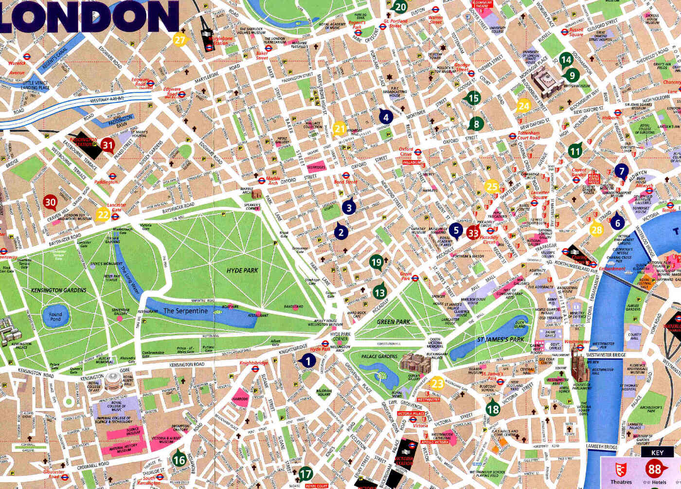 london tourist map get domain pictures getdomainvids – Map Of London Tourist Sites