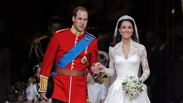 Prince William and Kate Middleton - Wedding