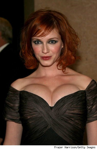 property investing christina hendricks smoking dress