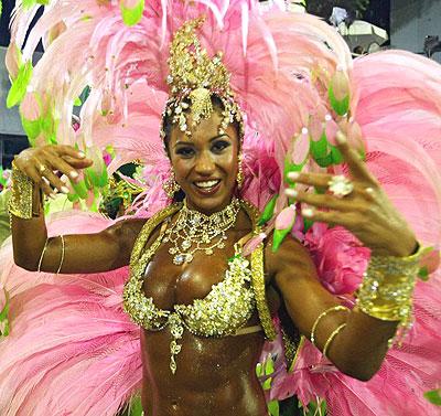 Rio samba dance