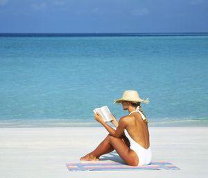 Romantic book beach love story