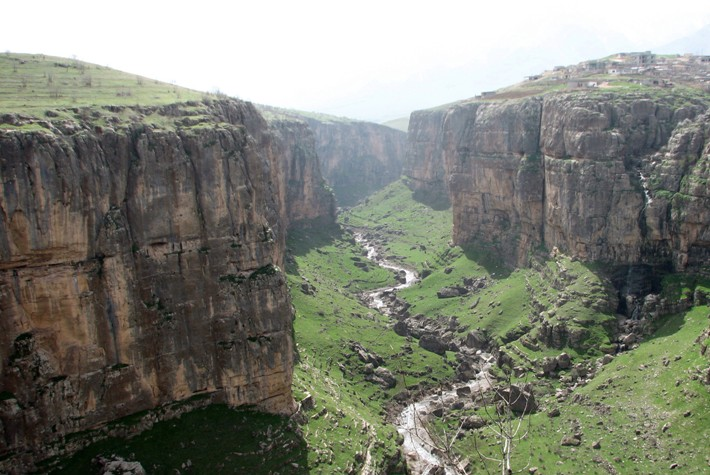Kurdistan Rowandu Gorge at Rowanduz