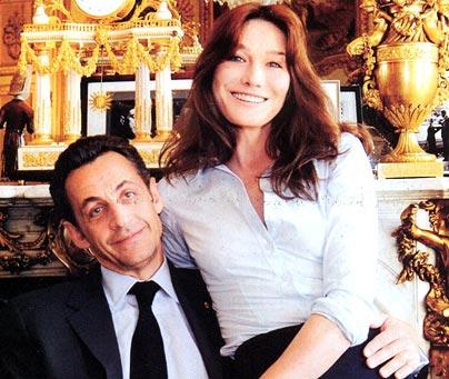 Sarkozy Carla Bruni