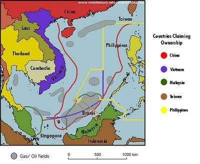 South China Sea Maritime Claims