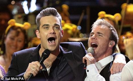 Take That Robbie Williams
