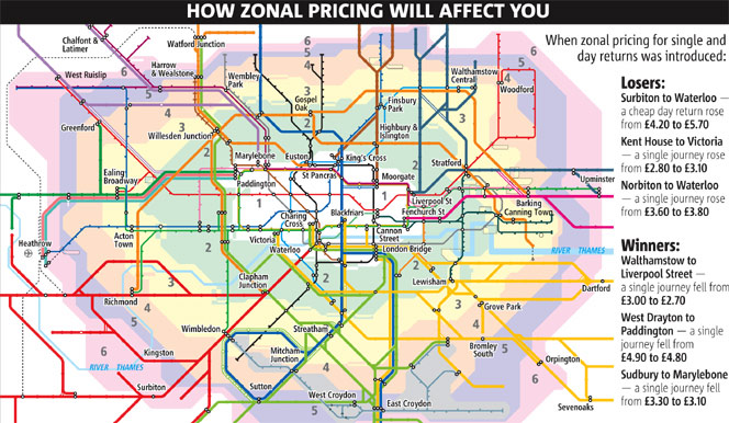 Transport For London Zone Map.Propertyinvesting Net Property Investment Special Reports