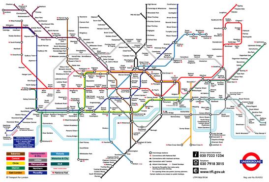 Underground Map. Underground Map. London Underground